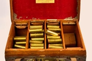 Purdey and Eley Brass cartridges. for sale